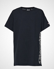 Cènnìs Maxi T-Shirt T-shirts & Tops Short-sleeved Blå CHAMPION