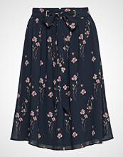 Esprit Collection Skirts Light Woven Knelangt Skjørt Svart ESPRIT COLLECTION