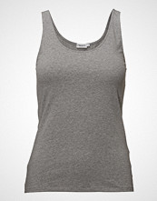 Filippa K Cotton Stretch Tank Top T-shirts & Tops Sleeveless Grå FILIPPA K