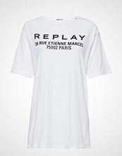 Replay T-Shirt T-shirts & Tops Short-sleeved Hvit REPLAY