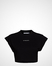 Ivyrevel Cropped T-Shirt T-shirts & Tops Short-sleeved Svart IVYREVEL