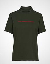 HAN Kjøbenhavn Collar Tee T-shirts & Tops Short-sleeved Grønn HAN KJØBENHAVN