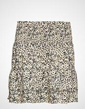 Second Female Wisely Short Skirt Kort Skjørt Creme SECOND FEMALE