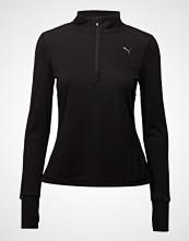 Puma Ignite 1/2 Zip Top W T-shirts & Tops Long-sleeved Svart PUMA