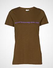Ichi Ihliberte Ss2 T-shirts & Tops Short-sleeved Grønn ICHI