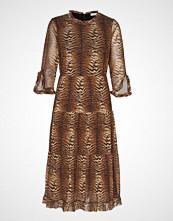 Sofie Schnoor Dress Knelang Kjole Brun SOFIE SCHNOOR