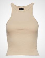 Gina Tricot Sanna Tank T-shirts & Tops Sleeveless Beige GINA TRICOT