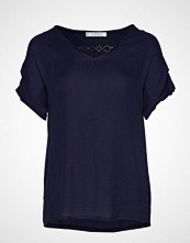 Violeta by Mango Detachable Necklace T-Shirt T-shirts & Tops Short-sleeved Blå VIOLETA BY MANGO