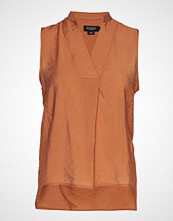 Soaked in Luxury Sl Valora Tank Top Bluse Ermeløs Oransje SOAKED IN LUXURY