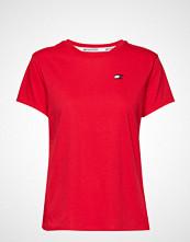 Tommy Sport Mesh T-Shirt '85' T-shirts & Tops Short-sleeved Rød TOMMY SPORT