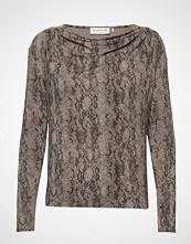 Rosemunde T-Shirt Ls T-shirts & Tops Long-sleeved Beige ROSEMUNDE