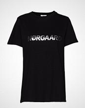Mads Nørgaard Single Organic Trenda P C T-shirts & Tops Short-sleeved Svart MADS NØRGAARD