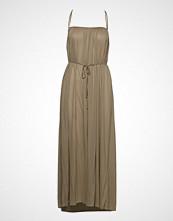 Filippa K Gathered Strap Dress Knelang Kjole Beige FILIPPA K