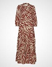 Lollys Laundry Nee Dress Maxikjole Festkjole Brun LOLLYS LAUNDRY