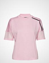 Adidas Performance W Zne Tee T-shirts & Tops Short-sleeved Rosa ADIDAS PERFORMANCE
