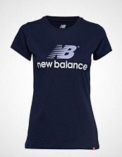 New Balance Nb Athletics Archive Stacked T T-shirts & Tops Short-sleeved Blå NEW BALANCE