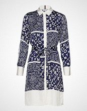 Tommy Hilfiger Florence Shirt Dress Knelang Kjole Multi/mønstret TOMMY HILFIGER