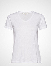 Gai+Lisva Sif V-Neck T-shirts & Tops Short-sleeved Hvit GAI+LISVA