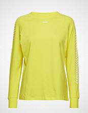 Hummel Hive Hmlannette T-Shirt L/S T-shirts & Tops Long-sleeved Gul HUMMEL HIVE