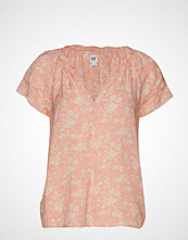 GAP Fltr Ss Zen Top T-shirts & Tops Short-sleeved Rosa GAP