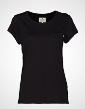 Lexington Clothing Ashley Jersey Tee T-shirts & Tops Short-sleeved Svart LEXINGTON CLOTHING