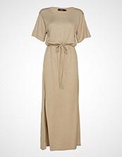 WACAY Kuma Knit Dress Maxikjole Festkjole Beige WACAY
