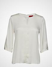 HUGO Celias-1 Bluse Kortermet Creme HUGO