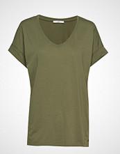 Edc by Esprit T-Shirts T-shirts & Tops Short-sleeved Grønn EDC BY ESPRIT