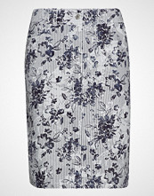Gerry Weber Edition Skirt Short Woven Fa Knelangt Skjørt Blå GERRY WEBER EDITION