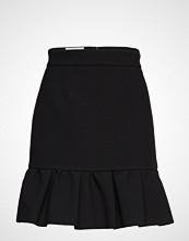 MSGM Heavy Double Crepe Cady Skirt Kort Skjørt Svart MSGM