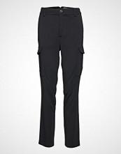 Mos Mosh Ray Cobb Cargo Pant Bukser Med Rette Ben Svart MOS MOSH