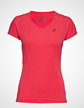 Asics V-Neck Ss Top T-shirts & Tops Short-sleeved Rosa ASICS