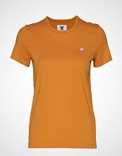 Wood Wood Uma T-Shirt T-shirts & Tops Short-sleeved Gul WOOD WOOD
