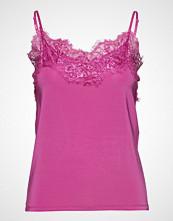 Soaked in Luxury Sl Clara Singlet T-shirts & Tops Sleeveless Rosa SOAKED IN LUXURY