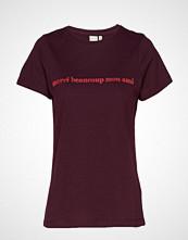 Ichi Ihliberte Ss2 T-shirts & Tops Short-sleeved Rød ICHI