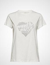 Munthe Aroma T-shirts & Tops Short-sleeved Hvit MUNTHE