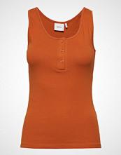 Gestuz Rollagz Tank Top T-shirts & Tops Sleeveless Oransje GESTUZ