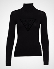 GUESS Jeans Ls Tn Elisa Sweater T-shirts & Tops Long-sleeved Svart GUESS JEANS