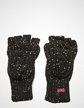 Superdry Gracie Cable Glove Hansker Svart SUPERDRY
