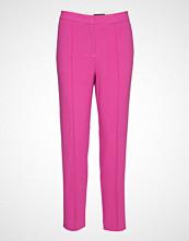 Soaked in Luxury Sl Hayley Pants Bukser Med Rette Ben Rosa SOAKED IN LUXURY