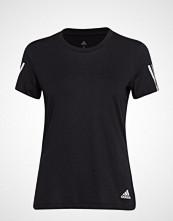 Adidas Performance Run It Tee Soft T-shirts & Tops Short-sleeved Svart ADIDAS PERFORMANCE