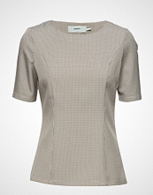 Moves Jappa Bluse Kortermet Beige MOVES