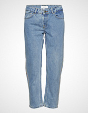 Just Female Rock Tape Jeans Slim Jeans Blå JUST FEMALE