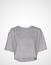 Reebok Performance S Washed Tee T-shirts & Tops Short-sleeved Grå REEBOK PERFORMANCE