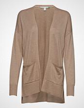 Esprit Casual Sweaters Cardigan Strikkegenser Cardigan Beige ESPRIT CASUAL