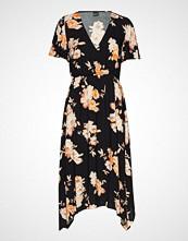 Gina Tricot Satina Dress Knelang Kjole Svart GINA TRICOT