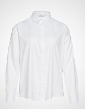 Violeta by Mango Oxford Shirt Langermet Skjorte Hvit VIOLETA BY MANGO