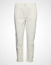 Boss Casual Wear Solga-D Bukser Med Rette Ben Creme BOSS CASUAL WEAR