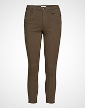 Only Onlblair Mid Sk Ankle Pant Pnt Noos Skinny Jeans Brun ONLY