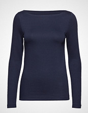 GAP Ls Mod Boat T-shirts & Tops Long-sleeved Blå GAP